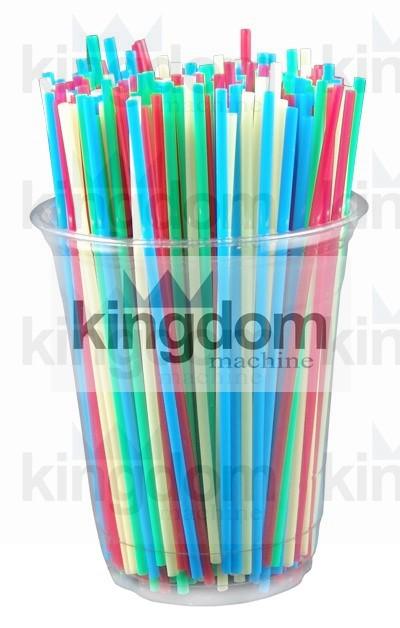 Paille à Boire Flexible en Plastique
